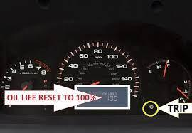 The engine oil life indicator blinks. How To Reset Honda Accord 2003 2007 Oil Service Light