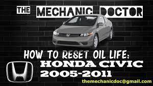 The maintenance item code(s) will disappear, and the engine oil life will reset to 100.; How To Reset Oil Life Honda Civic 2005 2011 6 Steps Instructables