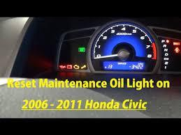 How to reset oil life on honda civic. How To Reset Maintenance Oil Light On 2006 2007 2008 2009 2010 2011 Honda Civic Youtube