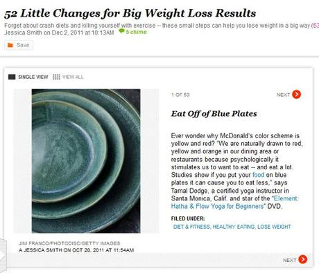 """52 Little Life Changes for BIG Weight Loss"" – A Super Good Health Feature"