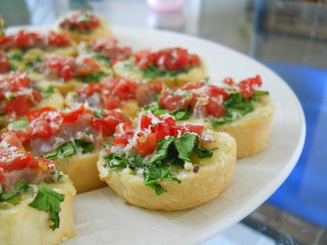 Tasty Tuesday - Quick Bite - Bruschetta Recipe