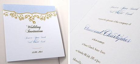 Uk Wedding Invitations The English Blog