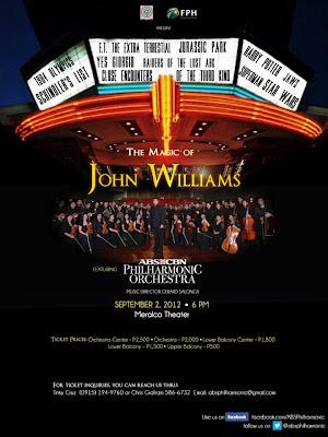 ABS-CBN Philharmonic Orchestra celebrates the music of John Williams in its first solo concert