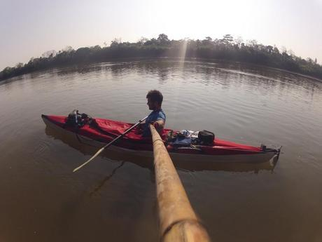 Amazon Source To Sea Update: Davey's Paddling At Last