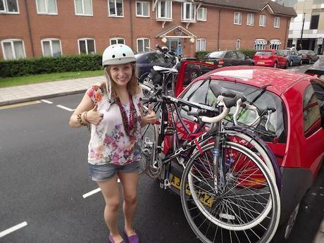 Sky Ride; Stacey Solomon Interview at Birmingham 2012