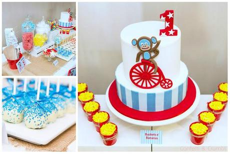 Cheeky Monkey Themed Party by Confetti & Crumbs