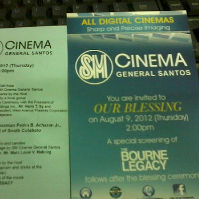SM CINEMA General Santos: Blessing Ceremony