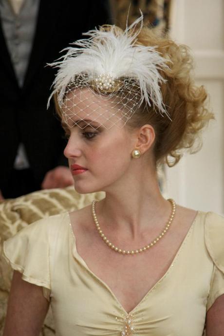 vintage ostrich feather wedding (12)