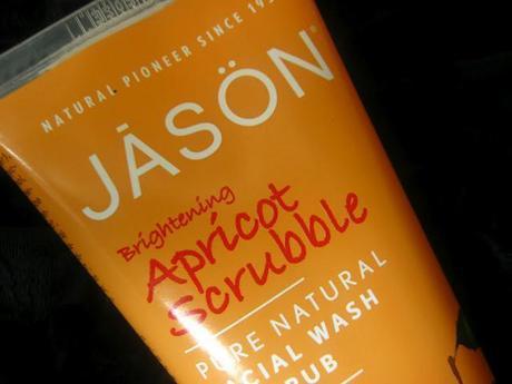 JĀSÖN Natural Care apricot scrubble