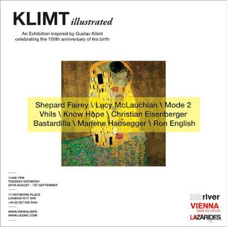 Street Artists Inspired by Klimt