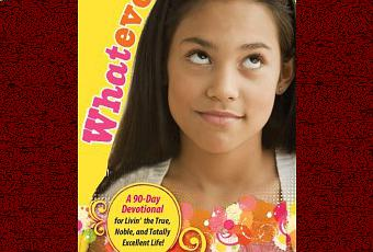 Can find Teen girl devotional book