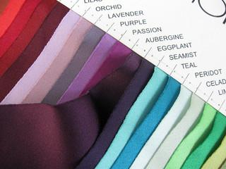 David S Bridal Swatches Potpourri Fridays Managing Wedding Color