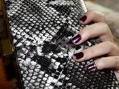 Snake Print Nail Ring
