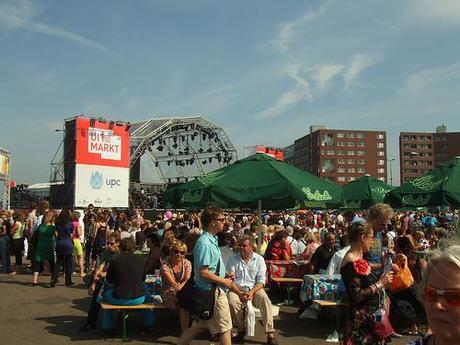 Uitmarkt: the largest cultural festival in the Netherlands