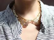 What Want: Metal Collar Necklace