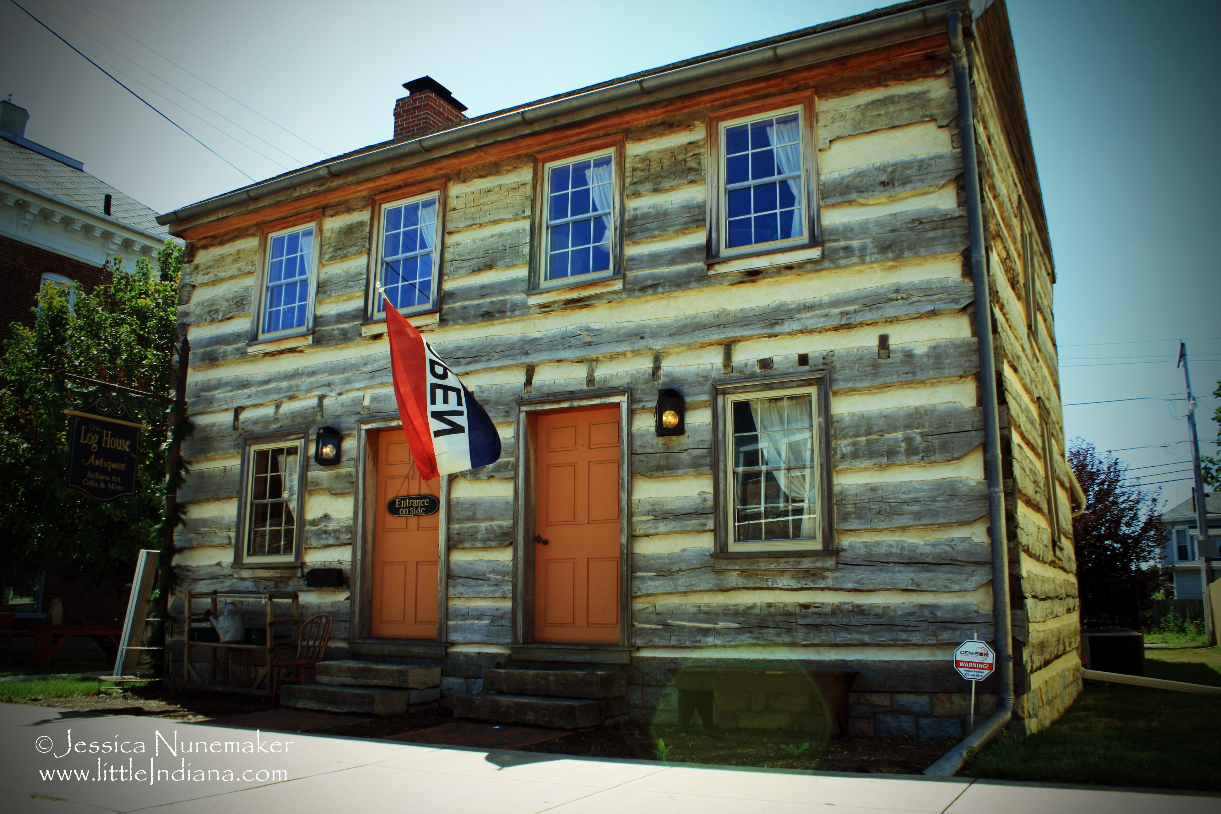 Log House Antiques In Cambridge City Indiana Indiana Art