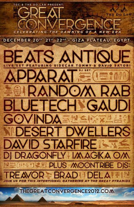 The Great Convergence: The Place to Be on 12.21.12