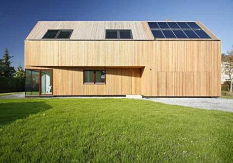 Waldblick Residence 2 Eco Design Day: Decorating with Solar Panels HomeSpirations