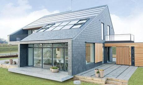 active house lystrup denmark Eco Design Day: Decorating with Solar Panels HomeSpirations