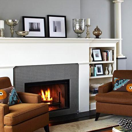 bhg fireplace 1 Fireplace Design and Decorating Ideas HomeSpirations