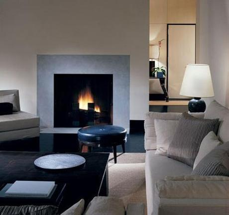architectural digest fireplace1 Fireplace Design and Decorating Ideas HomeSpirations