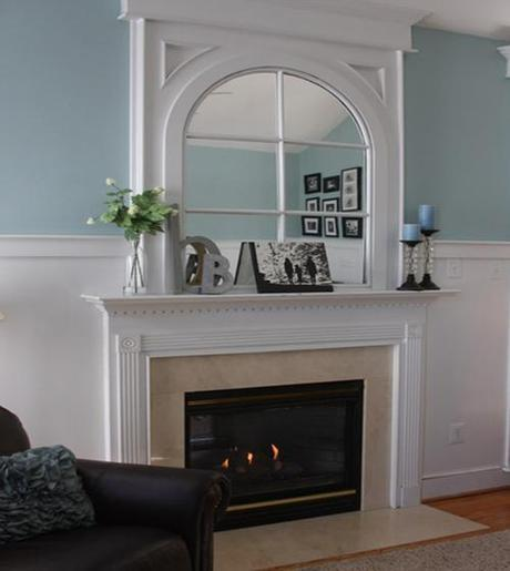 decor pad fireplace2 Fireplace Design and Decorating Ideas HomeSpirations