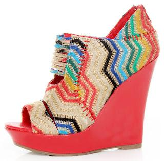 Shoe of the Day | Mona Mia Lori Peekaboo Peep-Toe Wedge