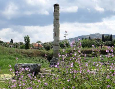 EPHESUS, TURKEY:  The Temple of Artemis, Wonder of the Ancient World