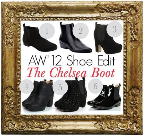 AW'12 Shoe Edit: The Chelsea Boot