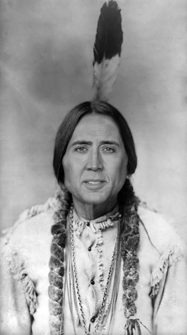 Nicolas Cage as Everyone