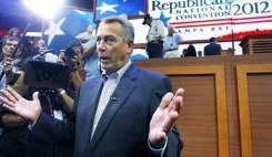 Boehner tells the press that he hopes blacks and latinos don't vote…