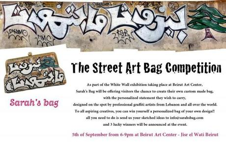 The Street Art Bag Competition By Sarah's Bag