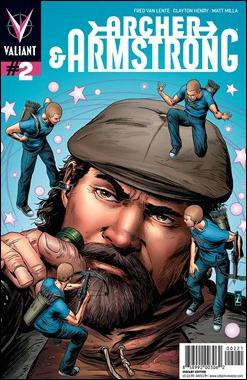 Archer & Armstrong #2 Zircher Variant Cover