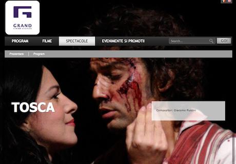 Tosca screening in Bucharest, September 20