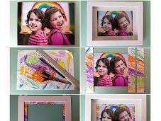 Children's Frame Their Photo