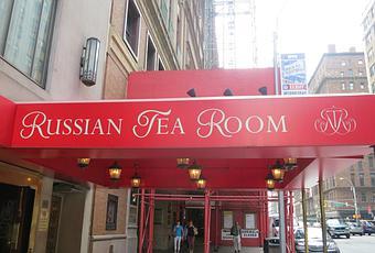 Eat Russian Tea Room Manhattan Ny Paperblog