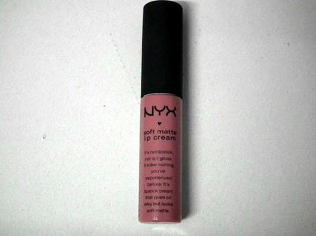 Review and Swatches - NYX Lip Cream in Milan