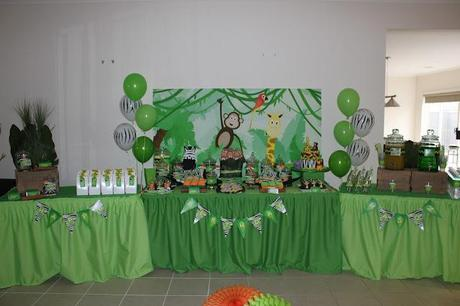 Jungle Party by Sweet Affairs Event Design