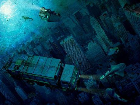 submerged city art Apocalypse Illustrated: Digital Disaster Art by Steve McGhee