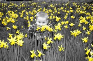 child and flowers 300x198 My Dad Sexually Abused me When I Was 5 Months Old