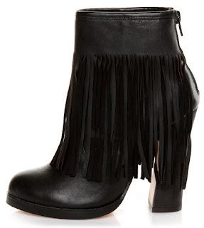 Shoe of the Day | N.Y.L.A. Gravano Leather Fringe Bootie