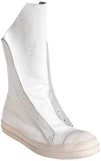 rick owens high top laceless sneaker at first glance rick owens shoes