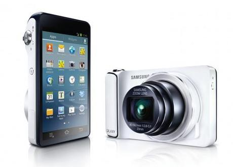 Adventure Tech: Samsung Annonces Android Powered Camera Too!