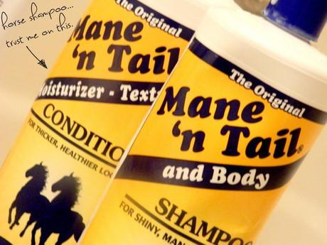 mane 'n tail for hair growth