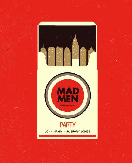 madmen poster angelceballos – Inspiration: Mad Men Party Poster – mad men poster mad men inspiration design
