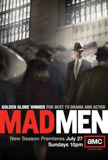 Mad Men Season 4 Premiere #Poster + The Graphic Art of Mad Men