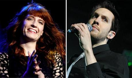 "Calvin Harris & Florence Welch debut dance track ""Sweet Nothing"""