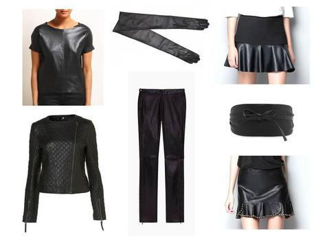 Fall/Winter 2012 Trends - Black Leather