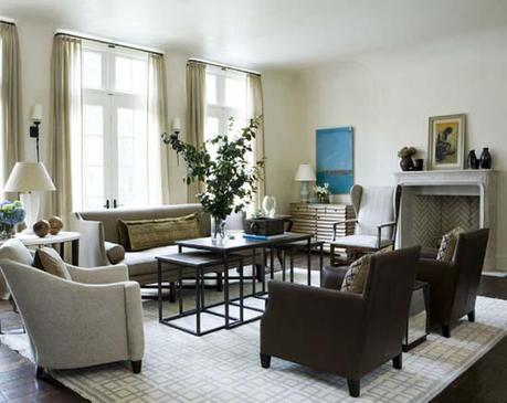 50 living rooms Designing with Area Rugs HomeSpirations