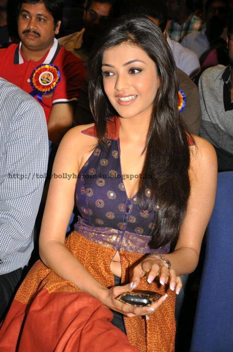 Kajal Agarwal - Cute in Blue